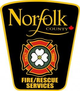 Norfolk County Fire/Rescue Services Crest