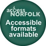 Accessible Formats Available upon request logo.