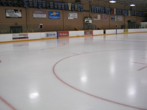 Port Dover arena ice rink boards