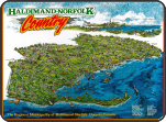 Haldimand Norfolk county map