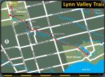 Lynn Valley Rail Trail map