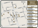 Norfolk County office location map