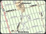 Norfolk east address range map