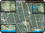 Norfolk rail trail map