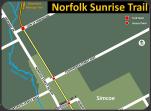 Norfolk Sunrise Trail map