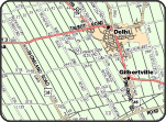 Norfolk west address range map