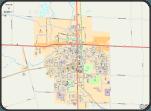 Map of Simcoe