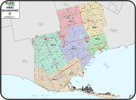 Norfolk ward map