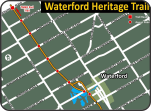 Waterford Heritage Trail map