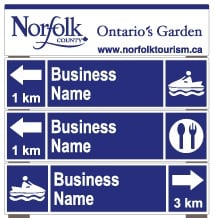 Type 2 Signage with Directional Information