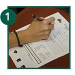 Complete the Emergency Information Vial form with your family or healthcare provider (ie. pharmacist, doctor, homecare)