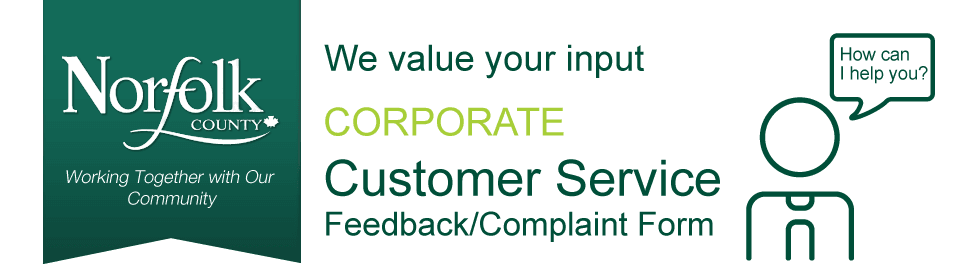 Corporate Customer Service Feedback/Complaint Form