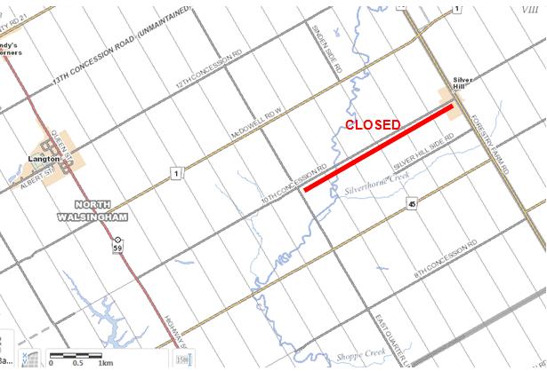 Map 1 Gas Leak