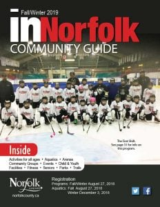In Norfolk Community Guide banner for Fall/Winter 2019.