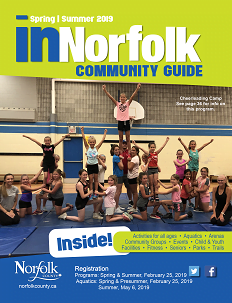 inNorfolk Community Guide cover for Spring / Summer 2019.