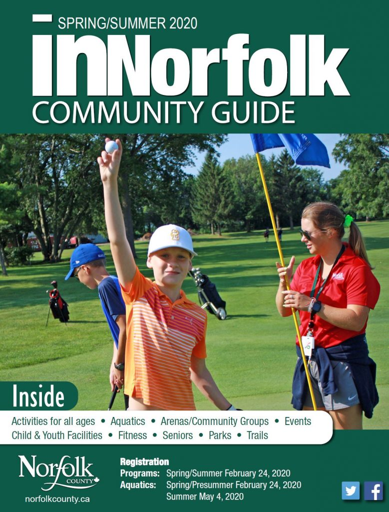Cover of the Spring/Summer 2020 inNorfolk Guide